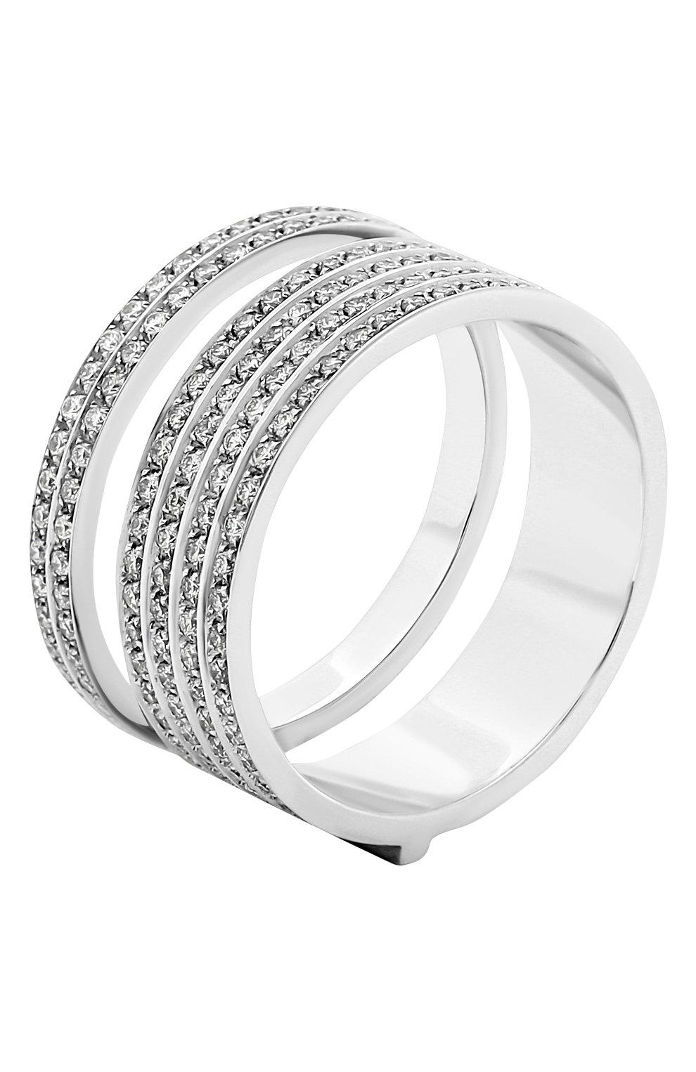 Женские кольцо REPOSSI бесцветного цвета, арт. RG/AL31AA(W) | Фото 3 (Материал сплава: Белое золото; Драгоценные камни: Бриллианты)