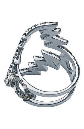 Женские кольцо NIKOS KOULIS бесцветного цвета, арт. NR55094   Фото 2