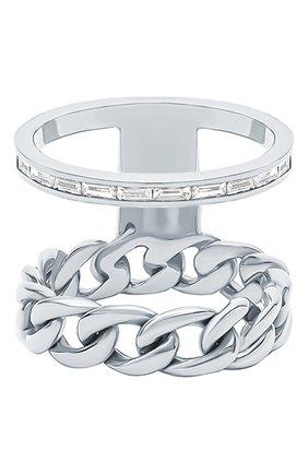 Женские кольцо NIKOS KOULIS бесцветного цвета, арт. NR55124(W)   Фото 1
