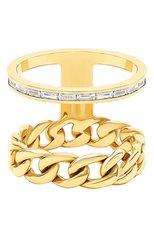 Женские кольцо NIKOS KOULIS бесцветного цвета, арт. NR55124.1Y | Фото 1 (Драгоценные камни: Бриллианты; Материал сплава: Желтое золото)
