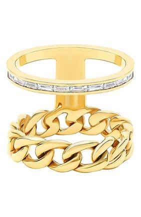 Женские кольцо NIKOS KOULIS бесцветного цвета, арт. NR55124.1Y   Фото 1