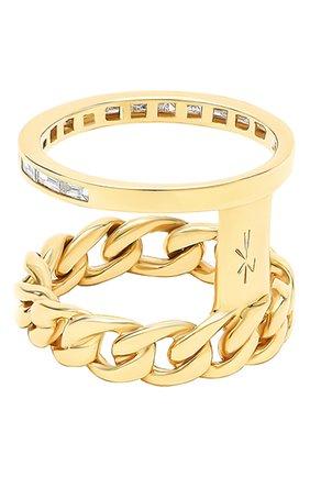 Женские кольцо NIKOS KOULIS бесцветного цвета, арт. NR55124.1Y   Фото 2