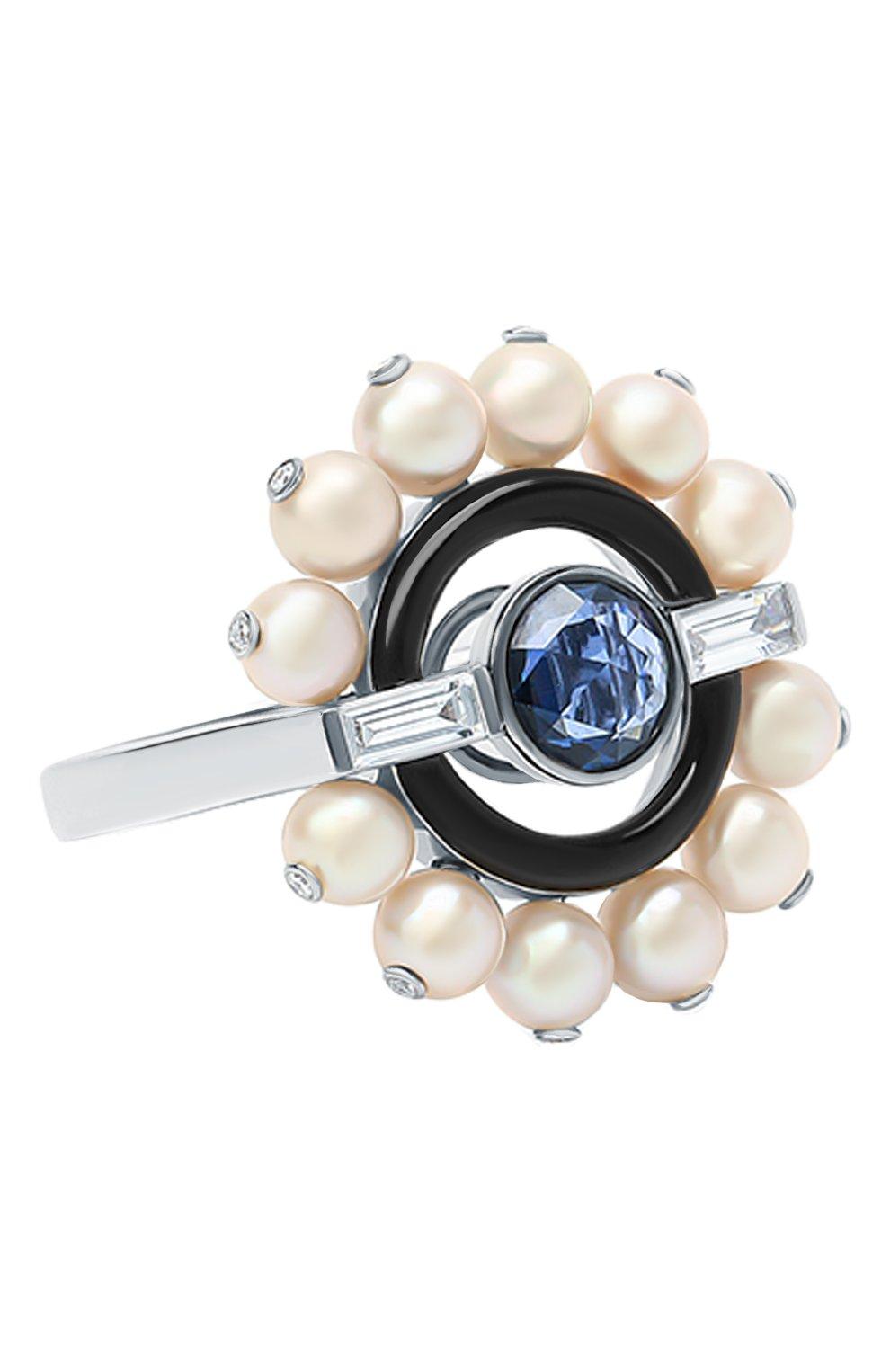 Женские кольцо NIKOS KOULIS бесцветного цвета, арт. NRG955   Фото 1