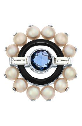 Женские кольцо NIKOS KOULIS бесцветного цвета, арт. NRG955   Фото 3