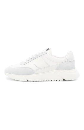 Мужские комбинированные кроссовки genesis vintage AXEL ARIGATO белого цвета, арт. 27571 | Фото 3 (Материал внешний: Текстиль; Материал внутренний: Текстиль; Подошва: Массивная; Стили: Спорт)
