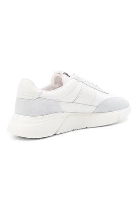 Мужские комбинированные кроссовки genesis vintage AXEL ARIGATO белого цвета, арт. 27571 | Фото 4 (Материал внешний: Текстиль; Материал внутренний: Текстиль; Подошва: Массивная; Стили: Спорт)