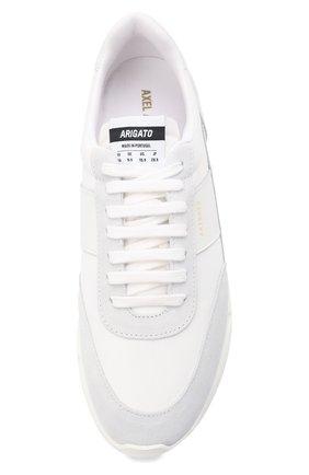 Мужские комбинированные кроссовки genesis vintage AXEL ARIGATO белого цвета, арт. 27571 | Фото 5 (Материал внешний: Текстиль; Материал внутренний: Текстиль; Подошва: Массивная; Стили: Спорт)