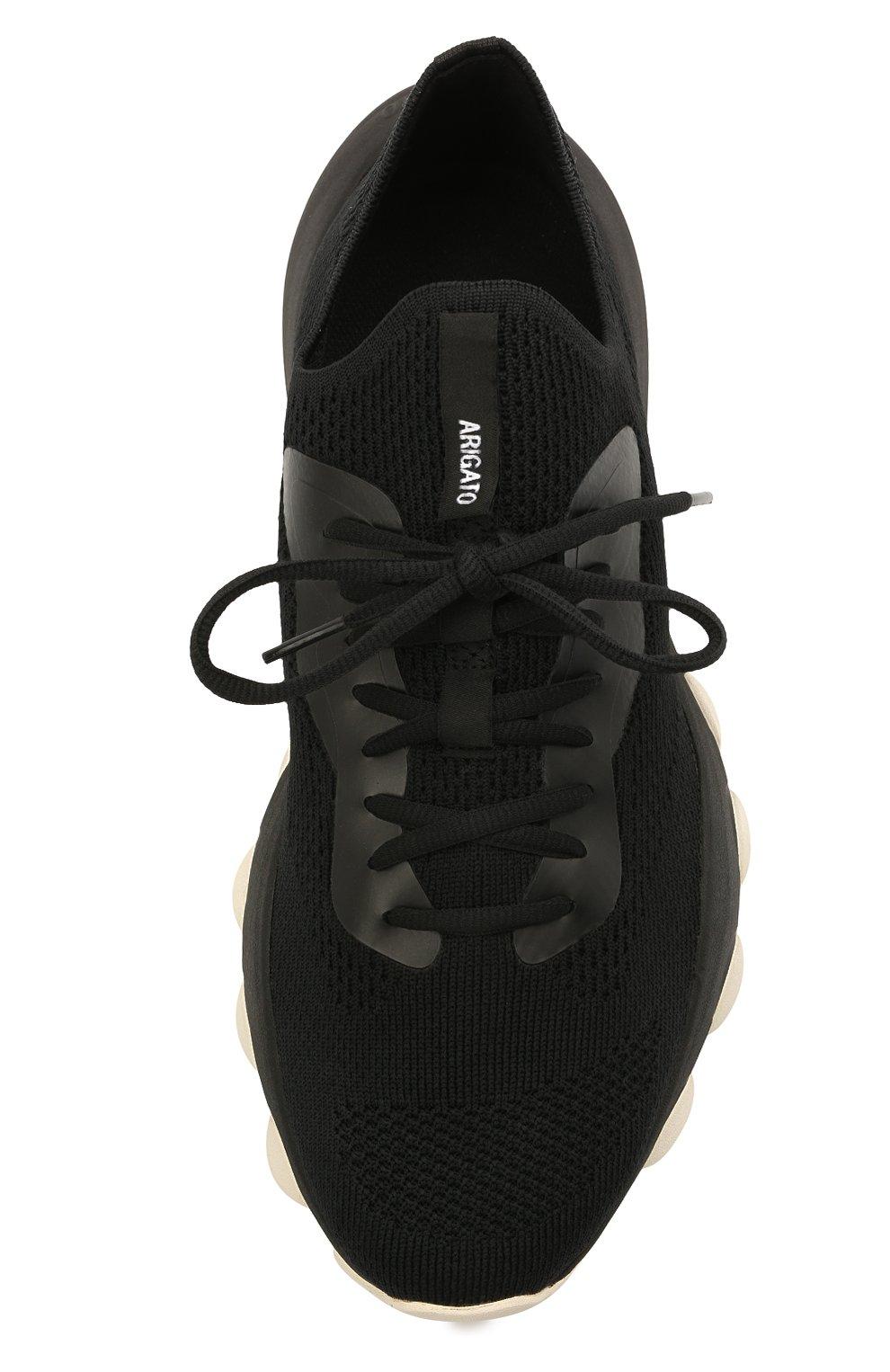 Мужские текстильные кроссовки apex AXEL ARIGATO черного цвета, арт. 22108 | Фото 5 (Материал внешний: Текстиль; Стили: Гранж; Материал внутренний: Текстиль; Подошва: Массивная)