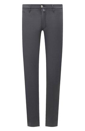 Мужские брюки JACOB COHEN темно-серого цвета, арт. B0BBY C0MF 02298-S/55 | Фото 1