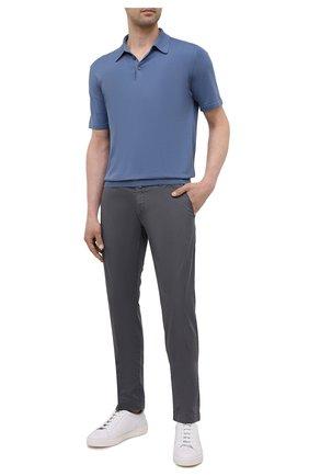 Мужские брюки JACOB COHEN темно-серого цвета, арт. B0BBY C0MF 02298-S/55 | Фото 2