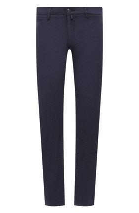Мужские брюки JACOB COHEN темно-синего цвета, арт. B0BBY C0MF 02298-S/55 | Фото 1