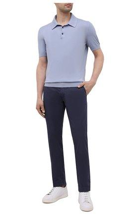 Мужские брюки JACOB COHEN темно-синего цвета, арт. B0BBY C0MF 02298-S/55 | Фото 2