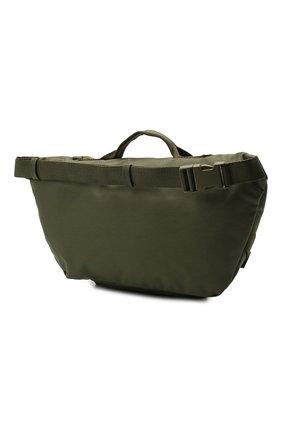 Мужская текстильная поясная сумка army BALENCIAGA хаки цвета, арт. 644035/2BKPI   Фото 3 (Ремень/цепочка: На ремешке; Материал: Текстиль)