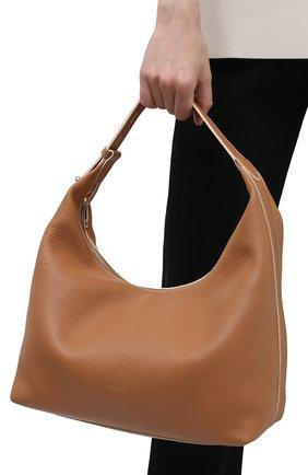 Женская сумка furla net FURLA коричневого цвета, арт. WB00229/HSF000   Фото 2