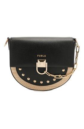 Женская сумка miss mimi mini FURLA черного цвета, арт. WB00184/A.0424 | Фото 1