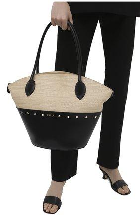 Женский сумка-тоут furla share FURLA черного цвета, арт. WB00237/A.0454   Фото 2
