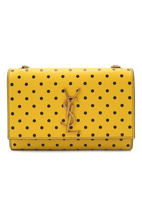 Женская сумка monogram kate small SAINT LAURENT желтого цвета, арт. 469390/2Q80W   Фото 1