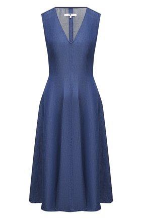 Женское платье 7 FOR ALL MANKIND синего цвета, арт. JSCBB090S0   Фото 1