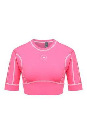Женский топ ADIDAS BY STELLA MCCARTNEY розового цвета, арт. GL7377   Фото 1