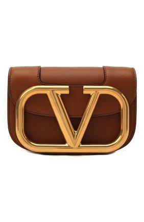 Женская сумка vlogo VALENTINO коричневого цвета, арт. VW0B0G45/ZXL   Фото 1