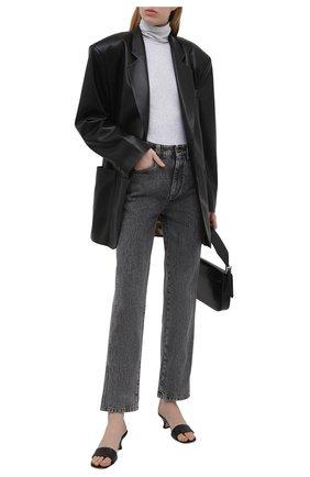 Женские джинсы BRUNELLO CUCINELLI темно-серого цвета, арт. MP095P5595   Фото 2