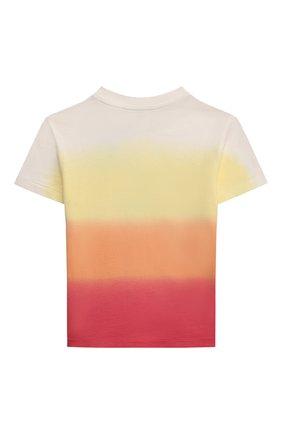 Детская хлопковая футболка POLO RALPH LAUREN разноцветного цвета, арт. 321836715   Фото 2