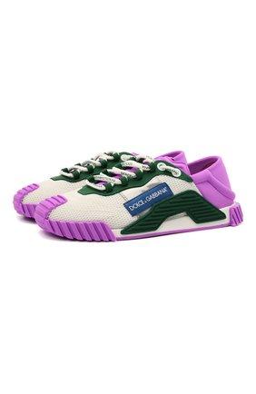 Женские комбинированные кроссовки ns1 DOLCE & GABBANA разноцветного цвета, арт. CK1755/B9N00 | Фото 1