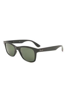 Женские солнцезащитные очки RAY-BAN черного цвета, арт. 4640-601/31 | Фото 1