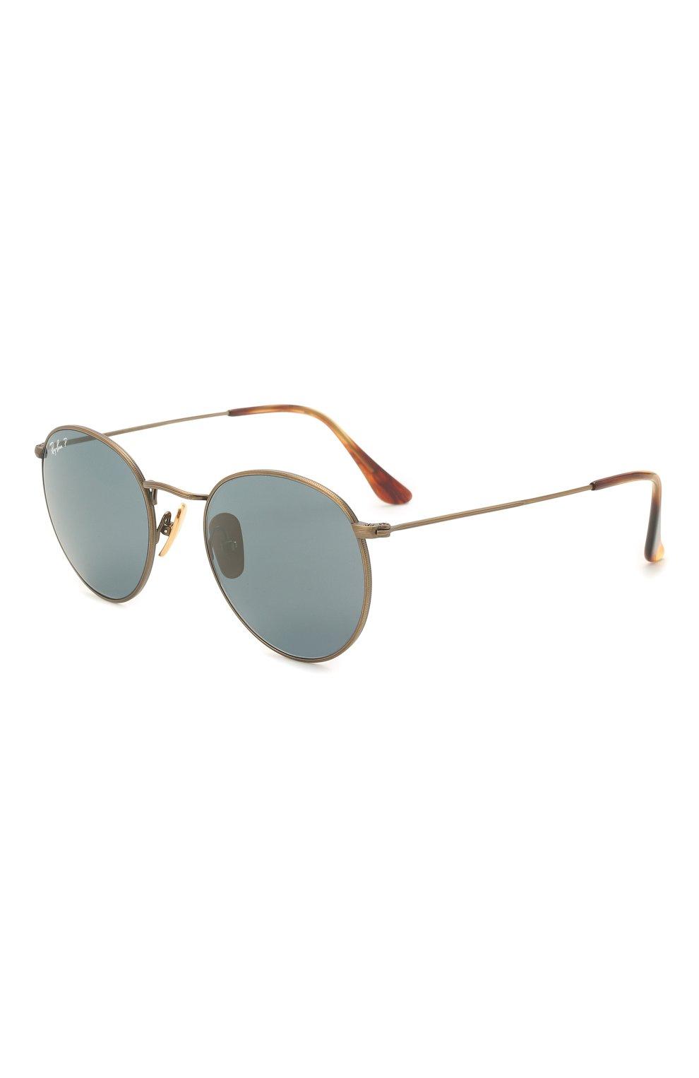 Женские солнцезащитные очки RAY-BAN бронзового цвета, арт. 8247-9207T0 | Фото 1