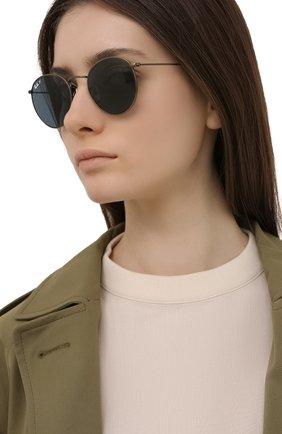Женские солнцезащитные очки RAY-BAN бронзового цвета, арт. 8247-9207T0 | Фото 2