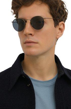 Женские солнцезащитные очки RAY-BAN бронзового цвета, арт. 8247-9207T0 | Фото 3