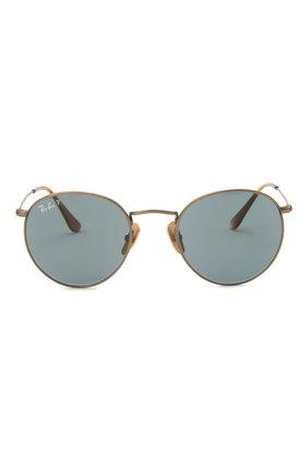 Женские солнцезащитные очки RAY-BAN бронзового цвета, арт. 8247-9207T0 | Фото 4
