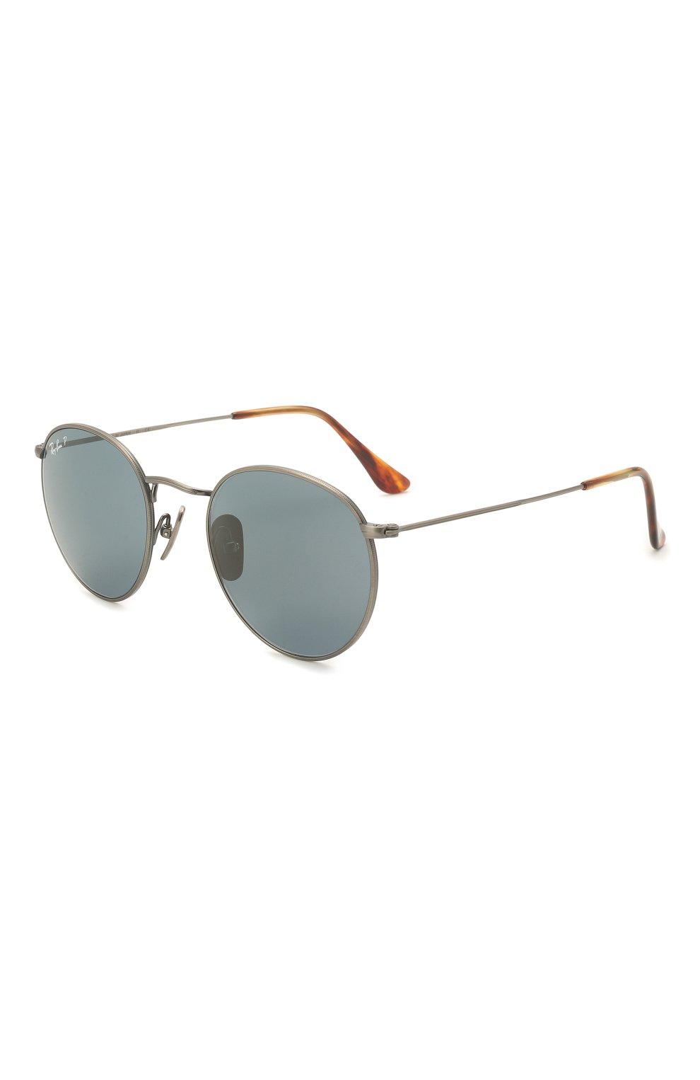 Женские солнцезащитные очки RAY-BAN синего цвета, арт. 8247-9208T0 | Фото 1