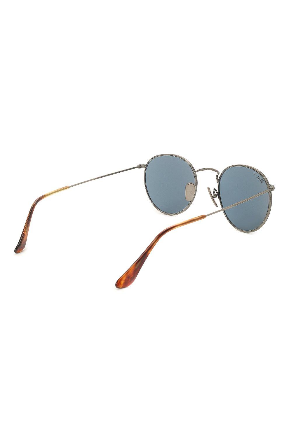 Женские солнцезащитные очки RAY-BAN синего цвета, арт. 8247-9208T0 | Фото 5