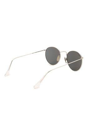Женские солнцезащитные очки RAY-BAN серебряного цвета, арт. 8247-920948   Фото 5