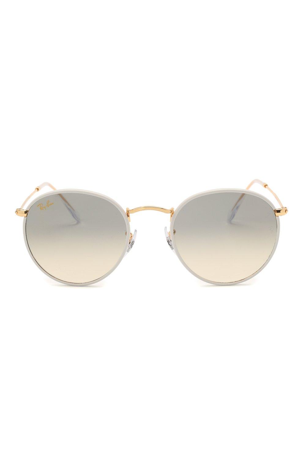 Женские солнцезащитные очки RAY-BAN белого цвета, арт. 3447JM-919632 | Фото 4