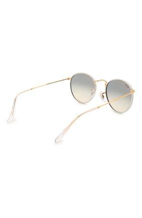 Женские солнцезащитные очки RAY-BAN белого цвета, арт. 3447JM-919632 | Фото 5