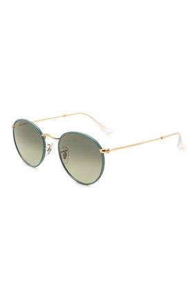 Женские солнцезащитные очки RAY-BAN зеленого цвета, арт. 3447JM-9196BH | Фото 1