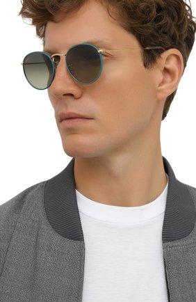 Женские солнцезащитные очки RAY-BAN зеленого цвета, арт. 3447JM-9196BH | Фото 3