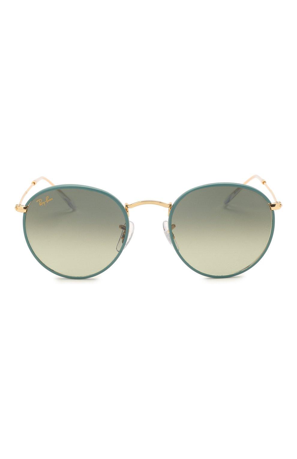 Женские солнцезащитные очки RAY-BAN зеленого цвета, арт. 3447JM-9196BH | Фото 4
