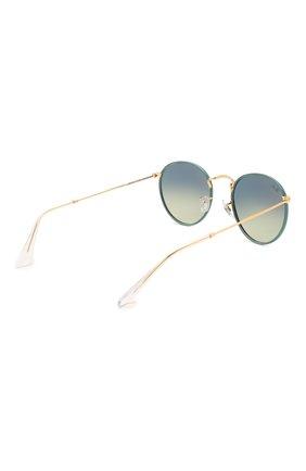 Женские солнцезащитные очки RAY-BAN зеленого цвета, арт. 3447JM-9196BH | Фото 5