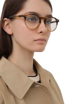 Женские оправа OLIVER PEOPLES коричневого цвета, арт. 5186-1703 | Фото 2