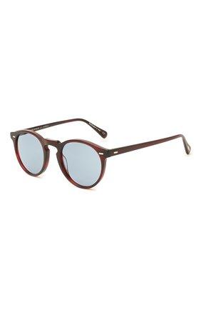 Женские солнцезащитные очки OLIVER PEOPLES бордового цвета, арт. 5217S-167556 | Фото 1