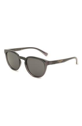 Мужские солнцезащитные очки DOLCE & GABBANA черного цвета, арт. 6148-325787 | Фото 1