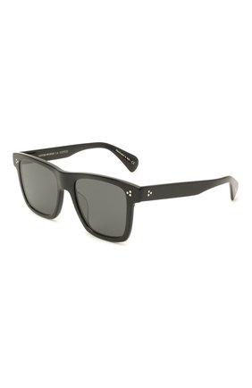 Женские солнцезащитные очки OLIVER PEOPLES черного цвета, арт. 5444SU-100587 | Фото 1