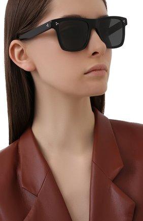 Женские солнцезащитные очки OLIVER PEOPLES черного цвета, арт. 5444SU-100587 | Фото 2