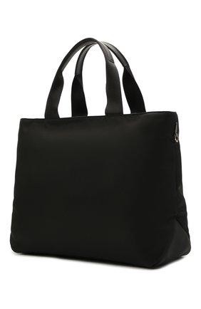Женский сумка-тоут PRADA черного цвета, арт. 1BG360-V44-F0002-OOO   Фото 2
