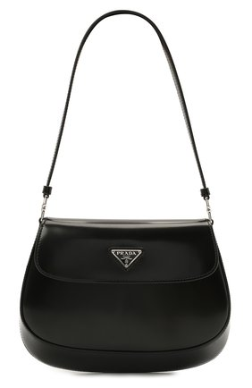 Женская сумка cleo PRADA черного цвета, арт. 1BD311-ZO6-F0002-OOO   Фото 1