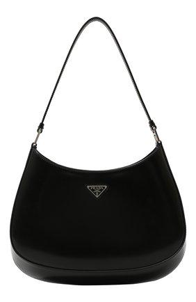 Женская сумка cleo PRADA черного цвета, арт. 1BC499-ZO6-F0002-OOO   Фото 1