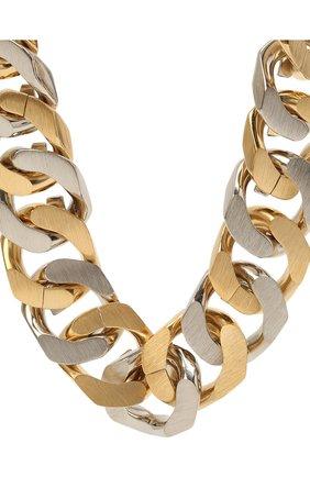 Женское колье GIVENCHY золотого цвета, арт. BF00ANF003   Фото 2